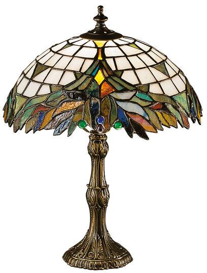 Louis C. Tiffany: Table lamp 'Foliage'