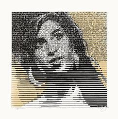 "Bild ""Amy and her drinks - Caffé coretto"" (2014) (Unikat)"