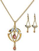 "Jewellery set ""Modern Art"""