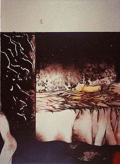 """Bruno Bruni: Bild """"Unberührt"""" (1974), ungerahmt"""