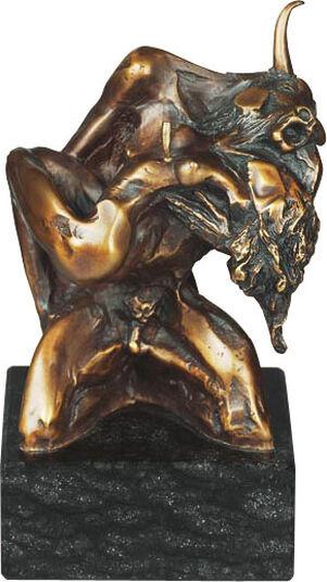 "Nikolay Anev: Skulptur ""Minotaurus"", Bronze"