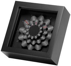 """Zeitkunst-Designuhr """"White Ribbon"""", Version als Tischuhr"""