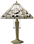 "Art Nouveau-Tischleuchte ""Metropolitan"""