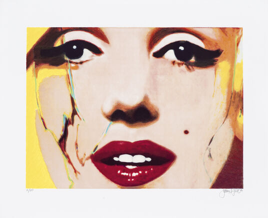 "James Francis Gill: Bild ""Her intoxicatings Lips"" (2016)"