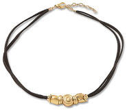"""Collier """"Goldnuggets"""""""
