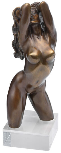 "Roman Johann Strobl: Skulptur ""Venus"", Version in Bronze"