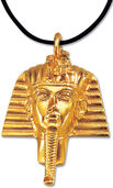"Pendant ""Tutankhamun Gold Mask"" with necklace"