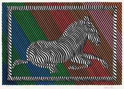 """Bild """"Zebra No. 3"""" (1984)"""