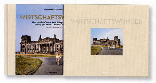 "Illustrated book ""economic miracle"" - Collector's Edition with signed colour photograph"