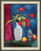 "Bild ""Rote Tulpen"" (1912), gerahmt"
