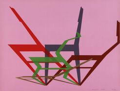 """Bild """"Dynamische Stühle"""" (1970)"""