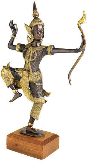 "Sculpture ""Rama as an Archer"""