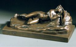 "Sculpture ""Sleeping Nymph"""