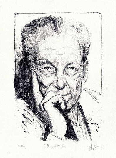 "Andreas Noßmann: Picture ""Willy Brandt"""