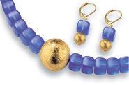 Jewelry set 'Deep Blue'