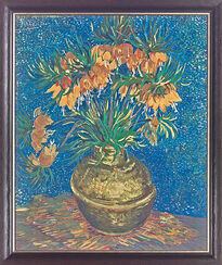 """Painting """"Imperial Fritillary"""""""