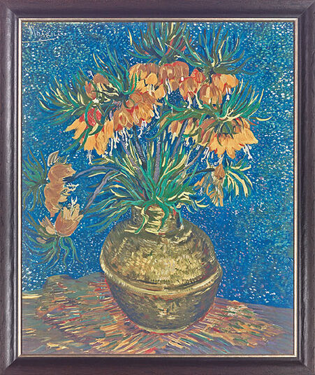 "Vincent van Gogh: Painting ""Imperial Fritillary"""