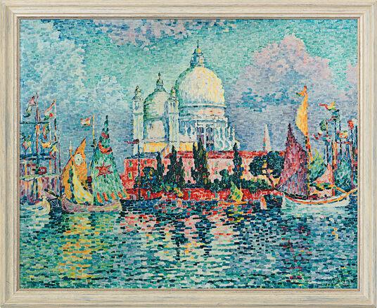 """Paul Signac: Painting """"Santa Maria della Salute"""" (1908)"""
