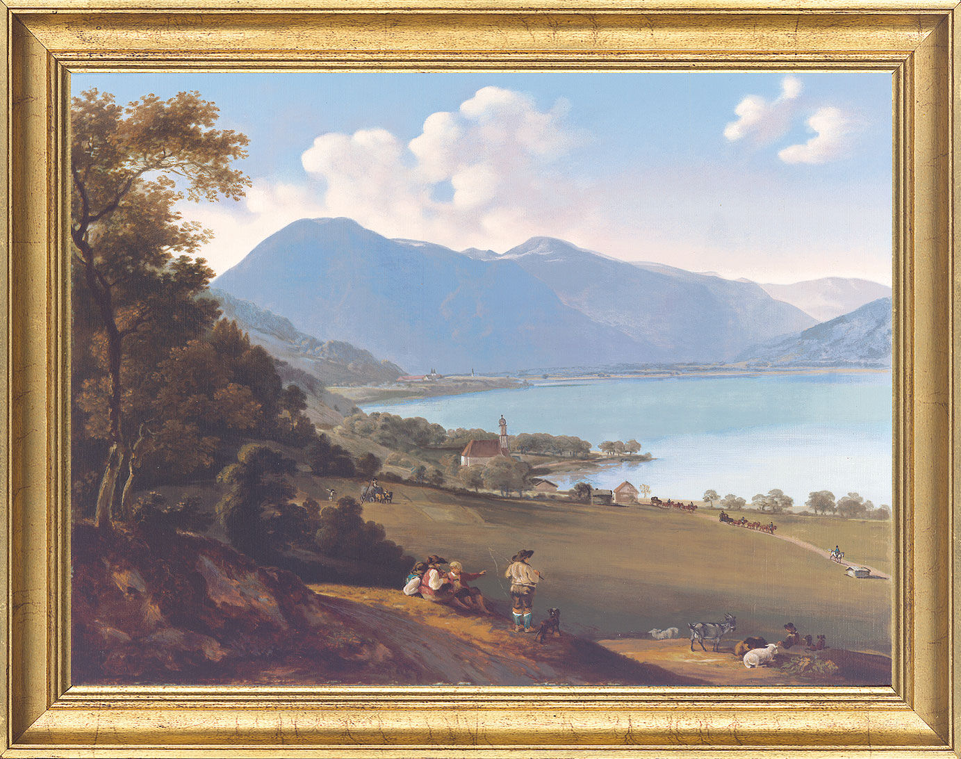 "Picture ""The Tegernsee"""