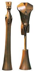 """Skulpturengruppe """"Das Paar"""", Bronze"""