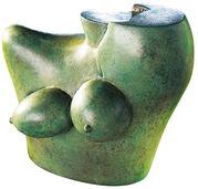 """Sculpture """"Olympia"""", bronze"""