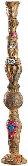 Andora + Della: Bronze-Leuchter