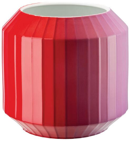 """Christine Rathmann: Porzellanvase """"Hot-Spots - Flashy Red"""" (mittelgroß, Höhe 22 cm)"""