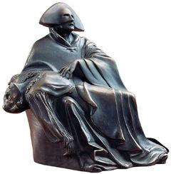 """Skulptur """"Amadeus"""", Version in Kunstbronze"""