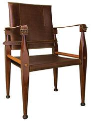 "Klassischer Stuhl ""Nomade"" im Kolonialstil"
