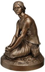 "Sculpture ""Joan of Arc"" (1880), bronze edition"