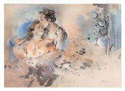 """Bild """"Zweisamkeit II"""" (1994), ungerahmt"""