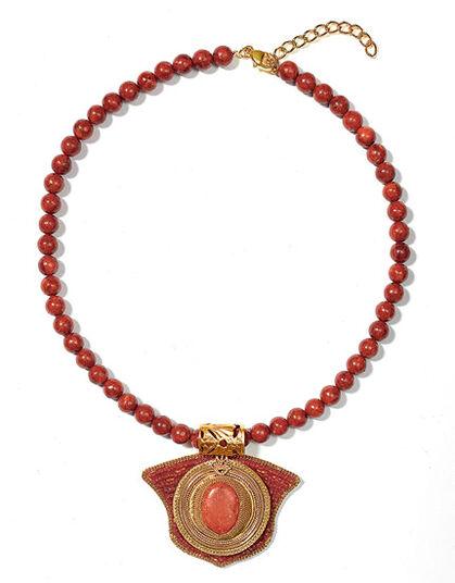 Petra Waszak: Egyptian Coral Necklace
