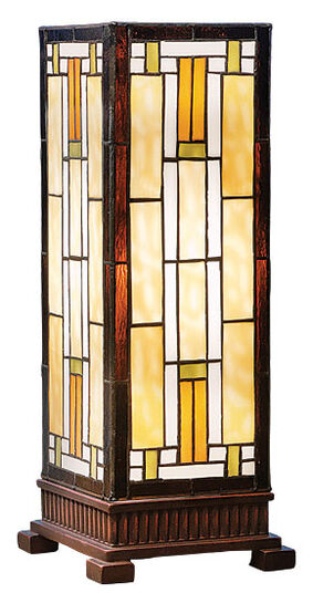 "Art Deco Table Lamp ""Carré"""