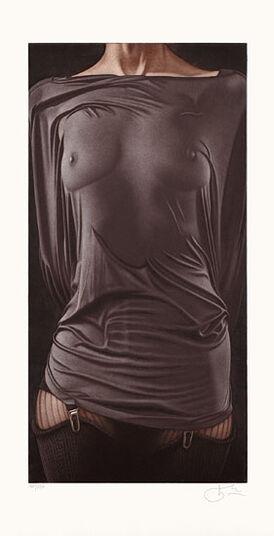 """Willi Kissmer: Bild """"Das graue Hemd"""" (1998), ungerahmt"""