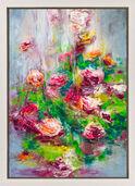 """Bild """"Blüten am See III"""" (2016) (Unikat)"""