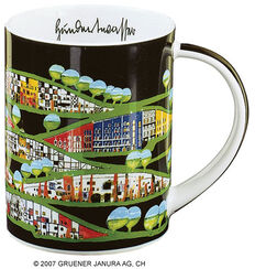 "Magic Mug ""Rogner-Bad Blumau"", porcelain"