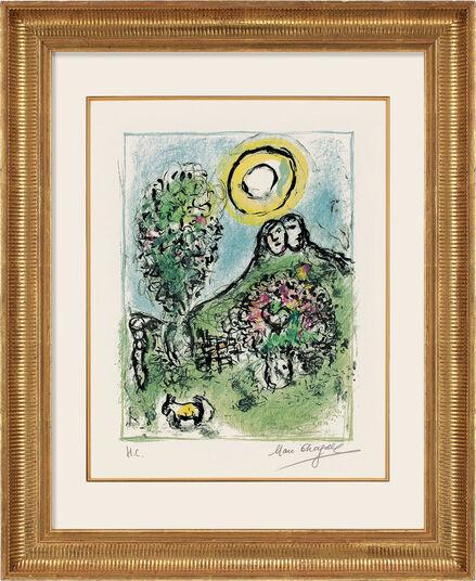 """Marc Chagall: Bild """"Le Baou de St.-Jeannet II"""" (1969)"""