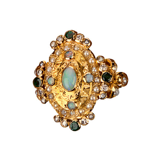 Fine gold ring