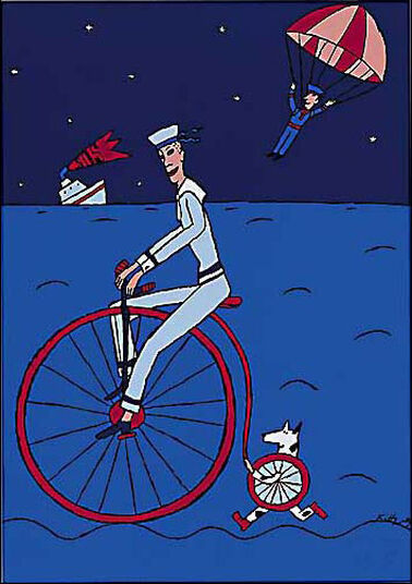 Kitty Kahane: Picture 'The Penny-Farthing', 2002