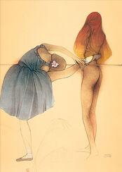"Bild ""Movimento"", 1983, ungerahmt"