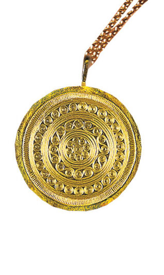 "Jewelry Pendant ""Trundholm Sun Chariot"","