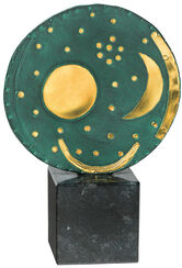 "Sculpture ""Nebra Sky Disk"" (Reduction)"