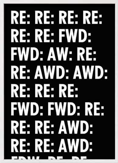 "Donnie O'Sullivan: Bild ""Reply (Work)"" (2014)"