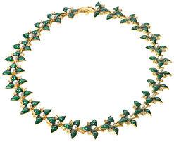"""Necklace """"St. Petersburg Weeding Blooms"""""""