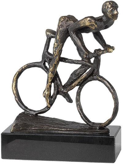 """Gerard: Skulptur """"Biker"""""""