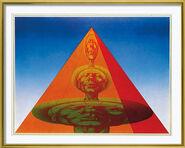 "Bild ""Adams Pyramide"", gerahmt"
