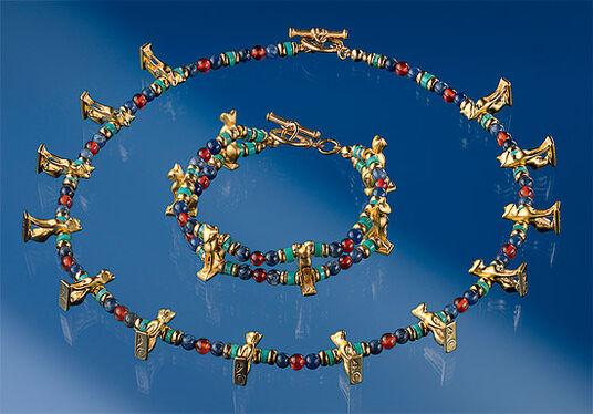 Egyptian bastet cat jewellery