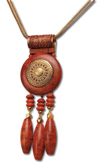 """Petra Waszak: Necklace """"Akhenaten"""""""