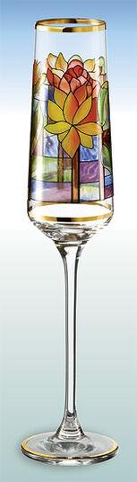"Champagnerkelch ""Seerose"" - nach Louis C. Tiffany"