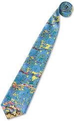 "tie ""Water Lilies"""